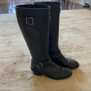 Vero Cuoio Black Leather Boots